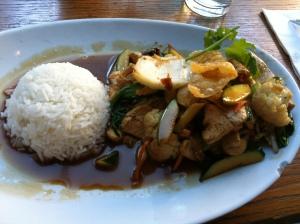 Teriyaki Stir-Fried Chicken