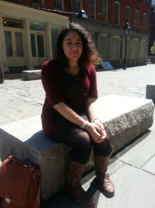Emily at South Street Seaport