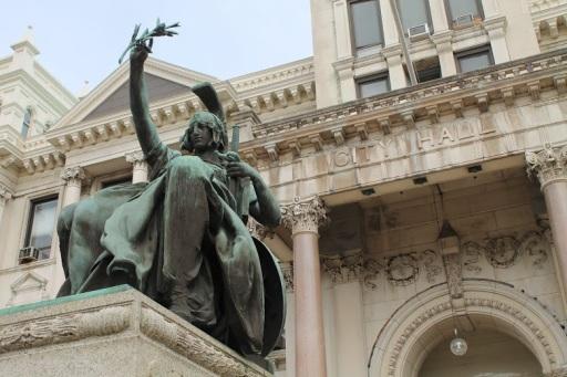 Statue & City Hall