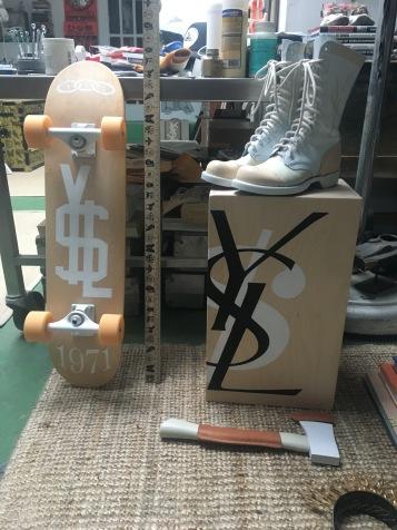 Dylan Egon X YSL Collaboration